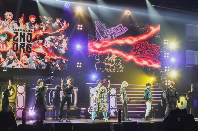 """『ヒプノシスマイク-Division Rap Battle- 6th LIVE <<2nd D.R.B>>』3rd Battleライブカットphoto by粂井健太/nishinaga """"saicho"""" isao/小林弘輔(C)AbemaTV,Inc.(C) King Record Co., Ltd. All rights reserved."""