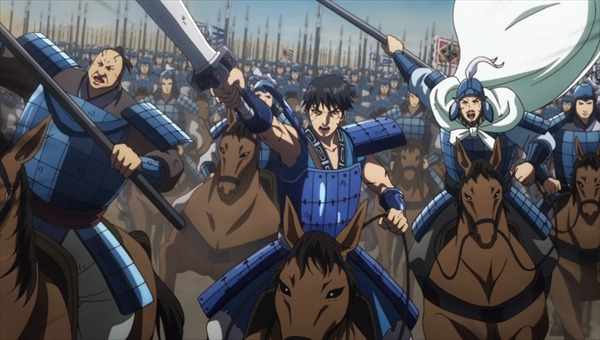 TVアニメ『キングダム』第2弾PVカット(C)原泰久/集英社・キングダム製作委員会