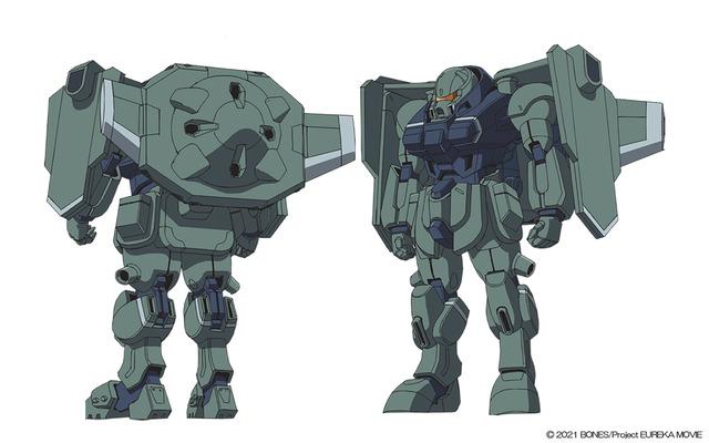 『EUREKA/交響詩篇エウレカセブン ハイエボリューション』ウルスラグナ SCT-J7G(統合歩兵型)(C)2021 BONES/Project EUREKA MOVIE