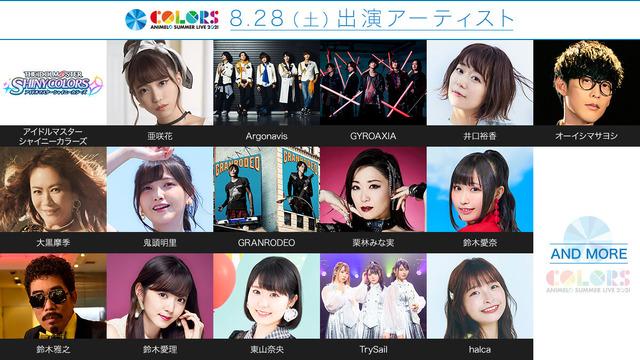 「アニサマ2021」DAY2 出演アーティスト第1弾