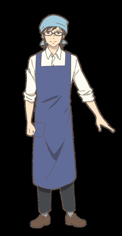 『やくならマグカップも』豊川刻四郎(C)プラネット・日本アニメーション/やくならマグカップも製作委員会