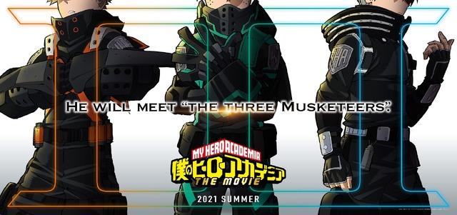 『僕のヒーローアカデミア THE MOVIE3(仮題)』ビジュアル(C)2021「僕のヒーローアカデミア THE MOVIE」製作委員会(C)堀越耕平/集英社