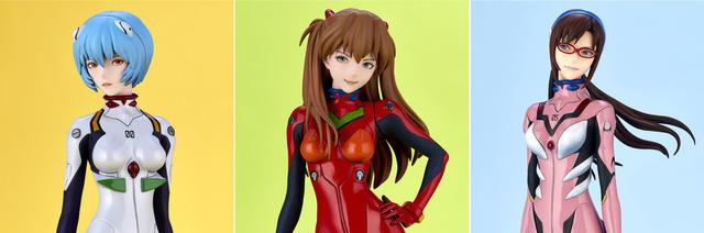 「EVAGIRLS エヴァガールズ」各12,700円(税別)(C)カラー
