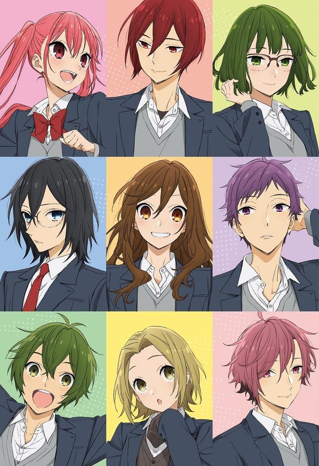 """คีย์วิชวล """"Horimiya"""" (C) HERO / Hagiwara Daisuke / SQUARE ENIX / คณะกรรมการการผลิต """"Horimiya"""""""