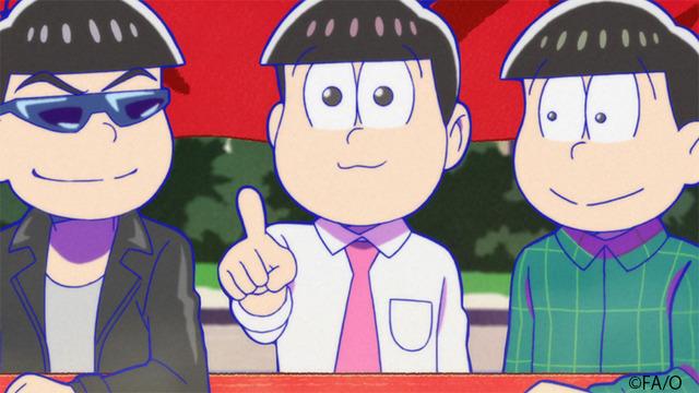 『おそ松さん』第3話先行カット(C)赤塚不二夫/おそ松さん製作委員会