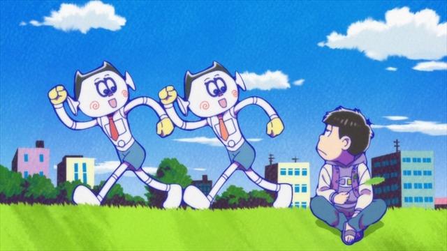 『おそ松さん』第6話先行カット(C)赤塚不二夫/おそ松さん製作委員会