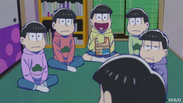 『おそ松さん』(第3期)第11話先行カット(C)赤塚不二夫/おそ松さん製作委員会