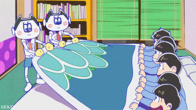 『おそ松さん』(第3期)第12話先行カット(C)赤塚不二夫/おそ松さん製作委員会