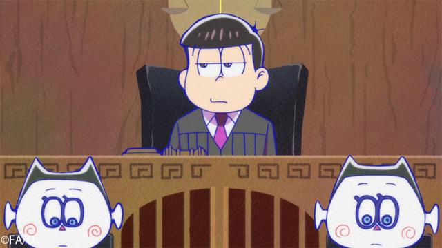 『おそ松さん』(第3期)第15話先行カット(C)赤塚不二夫/おそ松さん製作委員会