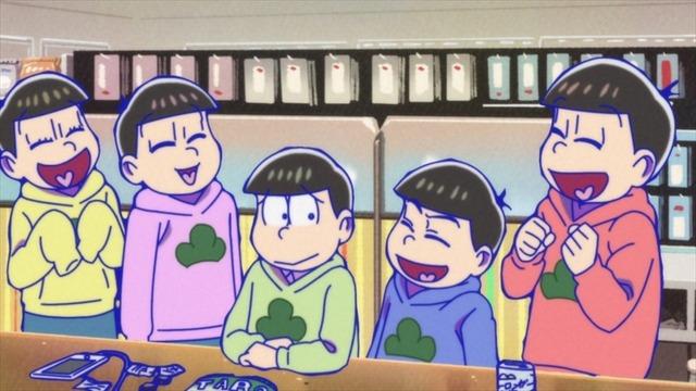 『おそ松さん』第1話先行カット(C)赤塚不二夫/おそ松さん製作委員会