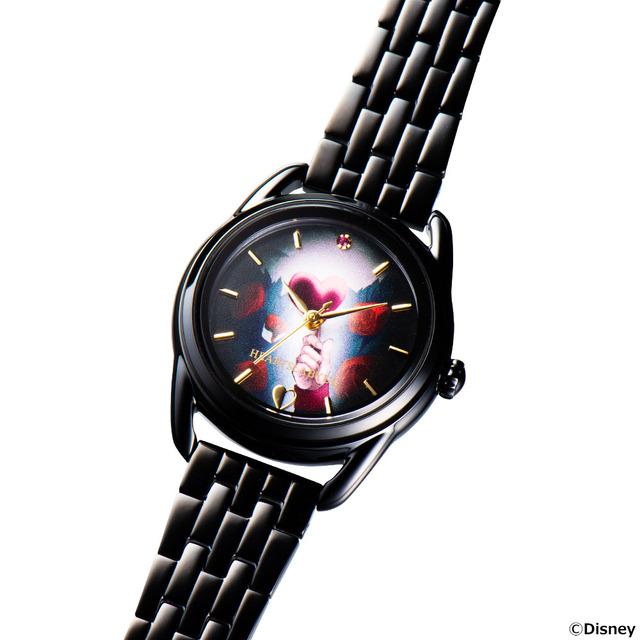 「『ディズニー ツイステッドワンダーランド』腕時計」各36,300円(税込)(C)Disney