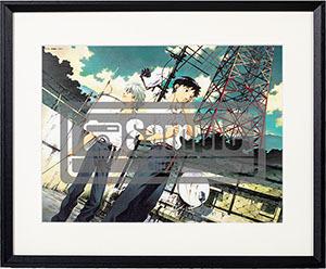 貞本義行「新世紀エヴァンゲリオン」B4複製原画 D 30,000円(税抜)(C)カラー