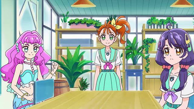 「『トロピカル~ジュ!プリキュア』第6話先行場面カット」(C)ABC-A・東映アニメーション