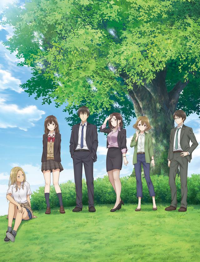 TVアニメ『ひげを剃る。そして女子高生を拾う。』キービジュアル(C)しめさば・KADOKAWA/『ひげひろ』製作委員会