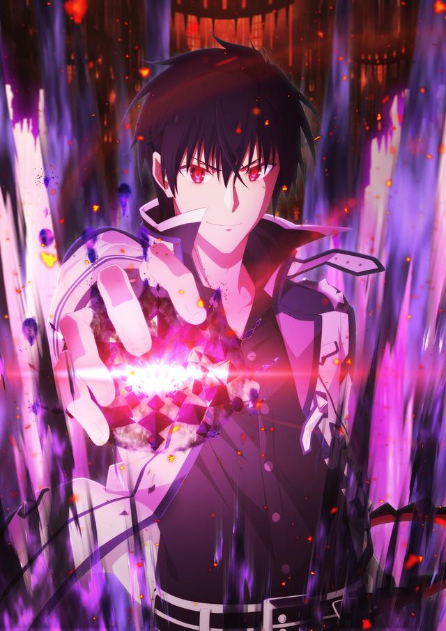 『魔王学院の不適合者 ~史上最強の魔王の始祖、転生して子孫たちの学校へ通う~』第2期ティザービジュアル(C)2021 秋/KADOKAWA/Demon King Academy