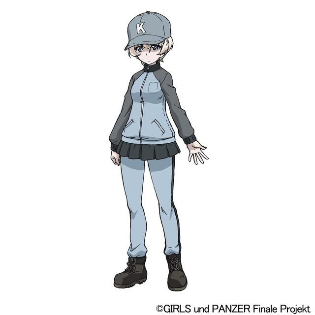 『ガールズ&パンツァー 最終章』第3話 ヨウコ(C)GIRLS und PANZER Finale Projekt