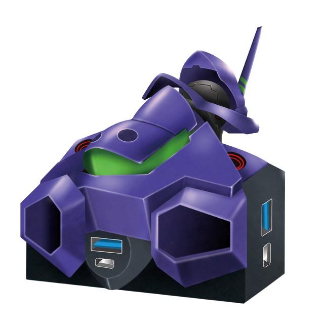「electroysエヴァンゲリオン初号機USBハブ」6,578円(税込)(C)khara