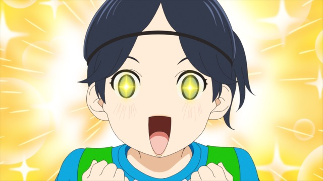 『さよなら私のクラマー』第2話「インパクト」場面カット(C)新川直司・講談社/さよなら私のクラマー製作委員会