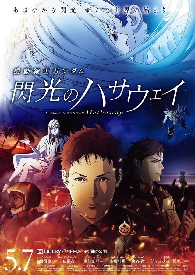 『機動戦士ガンダム 閃光のハサウェイ』メインビジュアル(C)創通・サンライズ