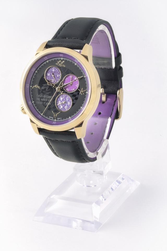 「コードギアス 反逆のルルーシュ」 腕時計 ルルーシュモデル 18,480円(税込)(C)SUNRISE/PROJECT L-GEASS Character Design (C)2006-2017 CLAMP・ST