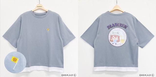 はたらく細胞 キャラクターTシャツM・L(C)AS/K,A,D(L)