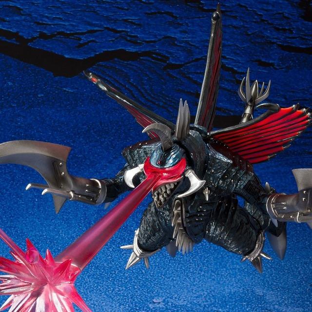 「S.H.MonsterArts ガイガン(2004)大決戦Ver.」TM & (C) TOHO CO., LTD.