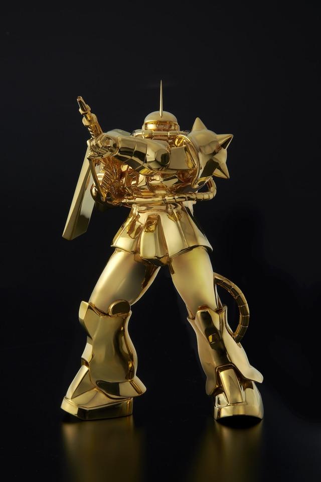 『機動戦士ガンダム』 純金像 シャア専用ザクII(C)創通・サンライズ