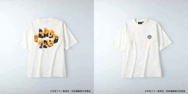 <MENS プリントTシャツ>3,300円(税込)(C)芥見下々/集英社 ・ 呪術廻戦製作委員会