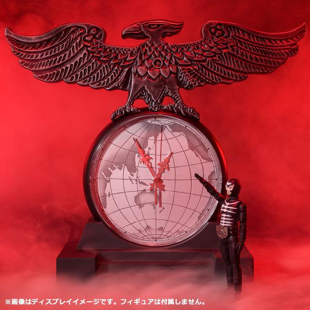 「ショッカー首領時計 SECRET BASE MODEL」28600円(税込/送料・手数料別途)(C)石森プロ・東映