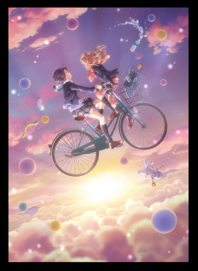 『安達としまむら』キービジュアル(C)2019 入間人間/KADOKAWA/安達としまむら製作委員会