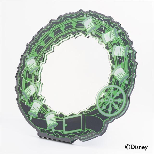 「『ディズニー ツイステッドワンダーランド』アクリルスタンドミラー ディアソムニア寮」3600円(税抜)(C)Disney