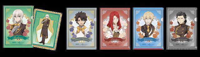 クリアファイル第1弾/「ココス×劇場版 Fate/Grand Order -神聖円卓領域キャメロット- 最果ての美食物語キャンペーン」(C)TYPE-MOON / FGO6 ANIME PROJECT