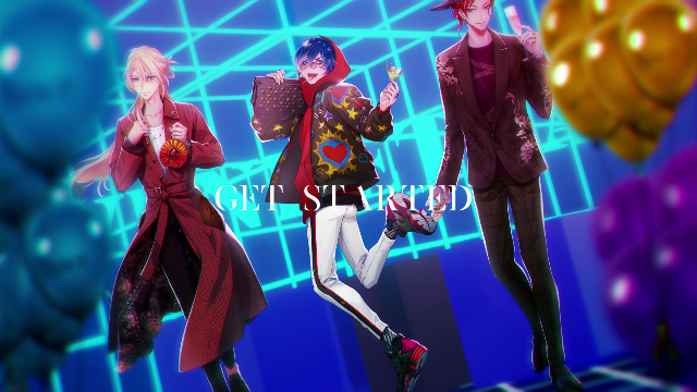 「RODEO feat. CLUB VENDETTA」Song:緋野天魔(CV:小野賢章)、 Keith(CV:高木朋弥)、 統夜(CV:八代 拓)(C)Marvelous / Rejet