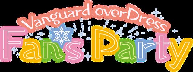 「Vangurad overDress Fan's Party」メインビジュアル(C)VANGUARD overDress
