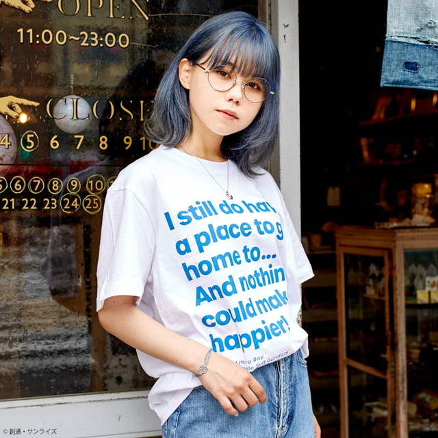 「STRICT-G『機動戦士ガンダム』Famous Lines Tシャツ」4,180円(税込)(C)創通・サンライズ