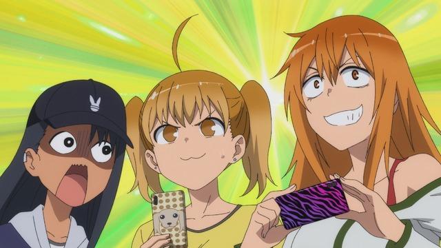 「『イジらないで、長瀞さん』9話先行場面カット」(C)ナナシ・講談社/「イジらないで、長瀞さん」製作委員会